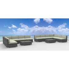 Venice 14 Piece Deep Seating Group with Cushion