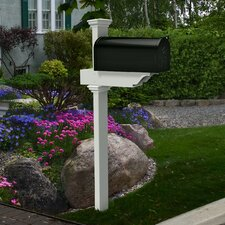 Rockport Mailbox Post with No-Dig Steel Pipe Anchor Kit