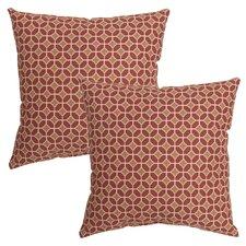 Genova Outdoor Throw Pillow (Set of 2)