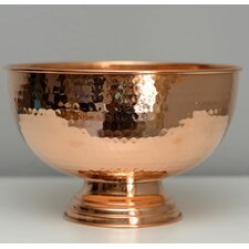Hammer Copper Punch Bowl