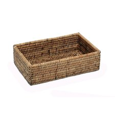 Rattan Large Rectangular Napkin Holder