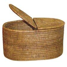Rattan Tissue Roll Box