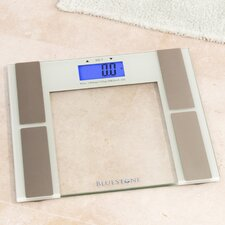 Digital Body Fat Scale with Tempered Glass Platform