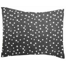 Cloudy Stars Cotton Percale Pillowcase