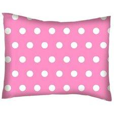 Polka Dots Cotton Percale Pillow Cover