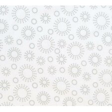 Dot Circles Toddler Fitted Crib Sheet