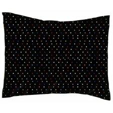 Primary Pindots Woven Cotton Percale Pillowcase
