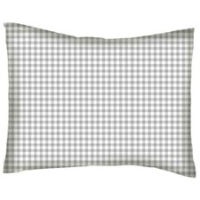 Gingham Jersey Knit Baby Pillowcase