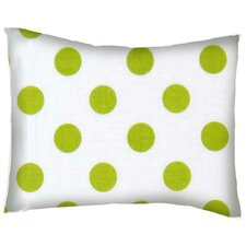 Polka Dots Cotton Percale Pillowcase