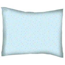 Pastel Pindots Woven Cotton Percale Pillowcase