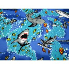 Sea Life Travel Fitted Crib Sheet