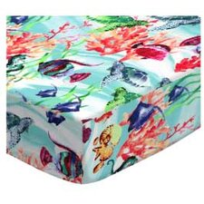 Exotic Sea Life Fitted Bassinet Sheet