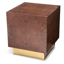 Milton Burl Large Cube End Table