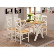 Eliza Dining Table and 4 Chairs