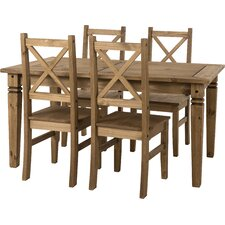 Jolie Dining Table and 4 Chairs