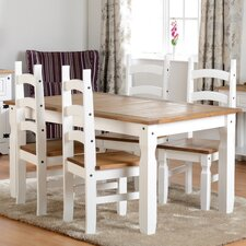 Angelina Dining Table and 4 Chairs