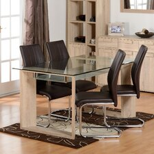 Fey Dining Table and 4 Chairs