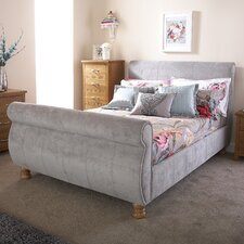 Doris Upholstered Sleigh Bed