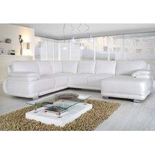 Modulare Wohnlandschaft Siena mit Bettfunktion, 265 cm B