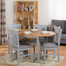 Oxford Extendable Dining Table and 4 Chairs