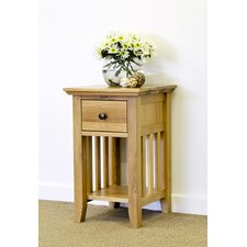 Grimsby 1 Drawer Bedside Table