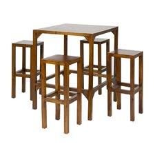 Diner 5-Piece Bar Table Set