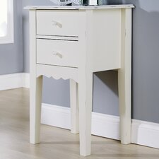 Shelly 2 Drawer Bedside Table
