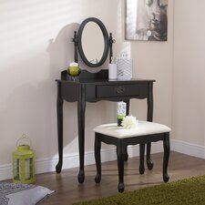 Phoenix Dressing Table Set with Mirror