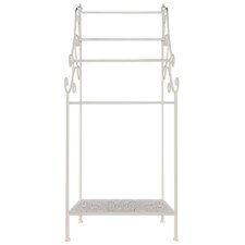 41cm Free-standing Towel Rack with Shelf