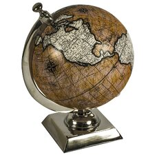 World Globe on Aluminium Stand