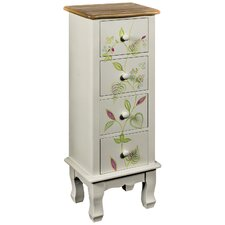 Leaves Contrast 4 Drawer Chest