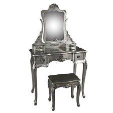 Schminktisch-Set mit Spiegel