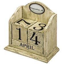 Dekorativer Blockkalender