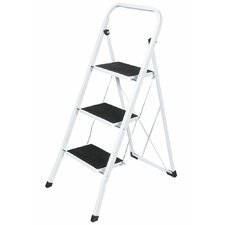 3.44 ft Steel 3 Step Ladder