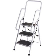 4.43 ft 3 Step Ladder