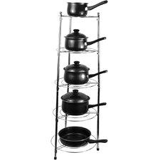 5 Tier Kitchen Pan Stand