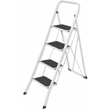 4.17 ft Steel 4 Step Ladder