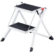 2 Tread Steel Step Stool