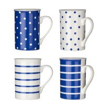 4 Piece Mug Set