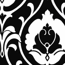 "Shades 32.7' x 20.5"" Italian Damask Wallpaper"
