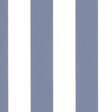 "Simply Stripes II 32.7' x 20.5"" Tent Stripe Wallpaper"
