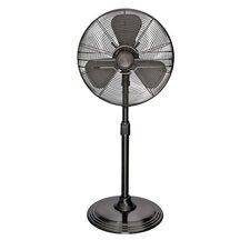 "16"" Retro Oscillating Pedestal Fan"
