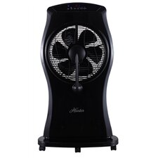 "12"" Misting Oscillating Floor Fan with Remote Control"