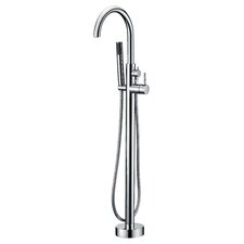 Kebo Single Handle Floor Mount Tub Faucet
