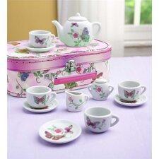 12 Piece Butterfly Tea Set
