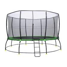 Hyper Jump 12' Round Trampoline with Safety Enclosure
