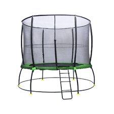 Hyper Jump 10' Round Trampoline with Safety Enclosure