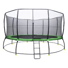 Hyper Jump 16' Round Trampoline with Safety Enclosure