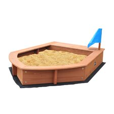 Boat Sandbox with Cover