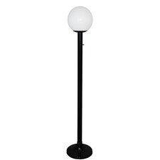 Single Globe Luminaire 79'' Post Lantern Set